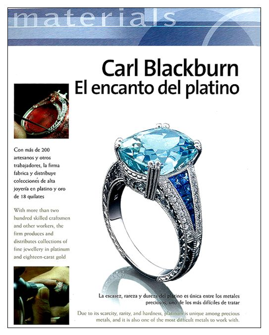 Carl Blackburn Jewelry Designer
