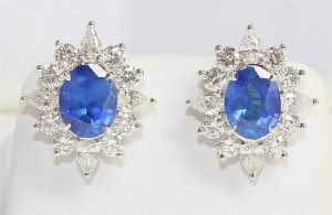 Where to Auction Sapphire Earrings