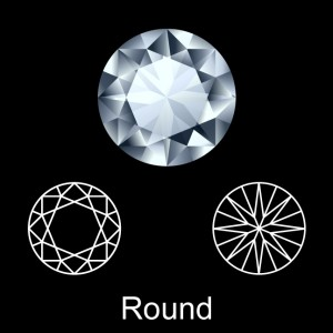 What Are Round Shape Diamonds