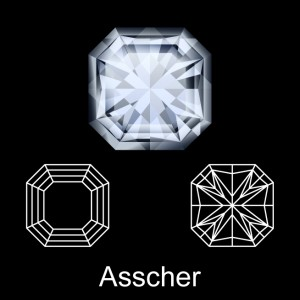 What is An Asscher Cut Diamond