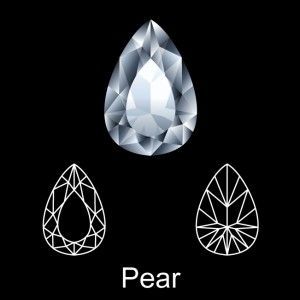 What is a Pear Shape Diamond