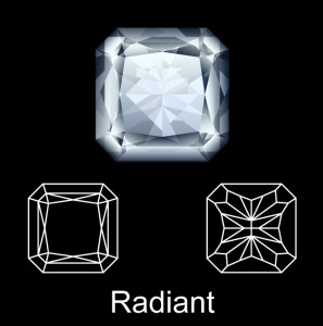 What is a Radiant Diamond Cut