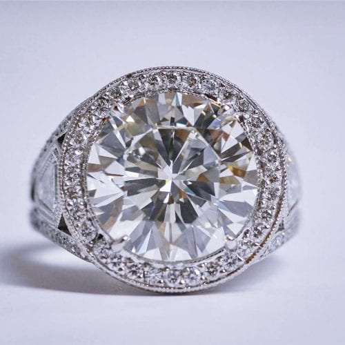 Recently Purchased Diamond In Newport Beach