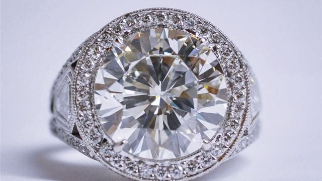 Recently Purchased Engagement Ring In Temecula