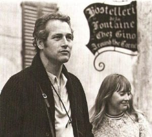 Paul Newman in Italy