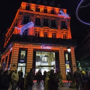 Cartier Store on the Champs-Élysées (Paris)