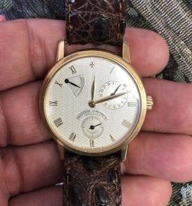 We Buy Used Patrimony Watches