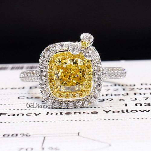 How to Sell a Yellow Diamond Ring, Necklace or Earrings Featured Image