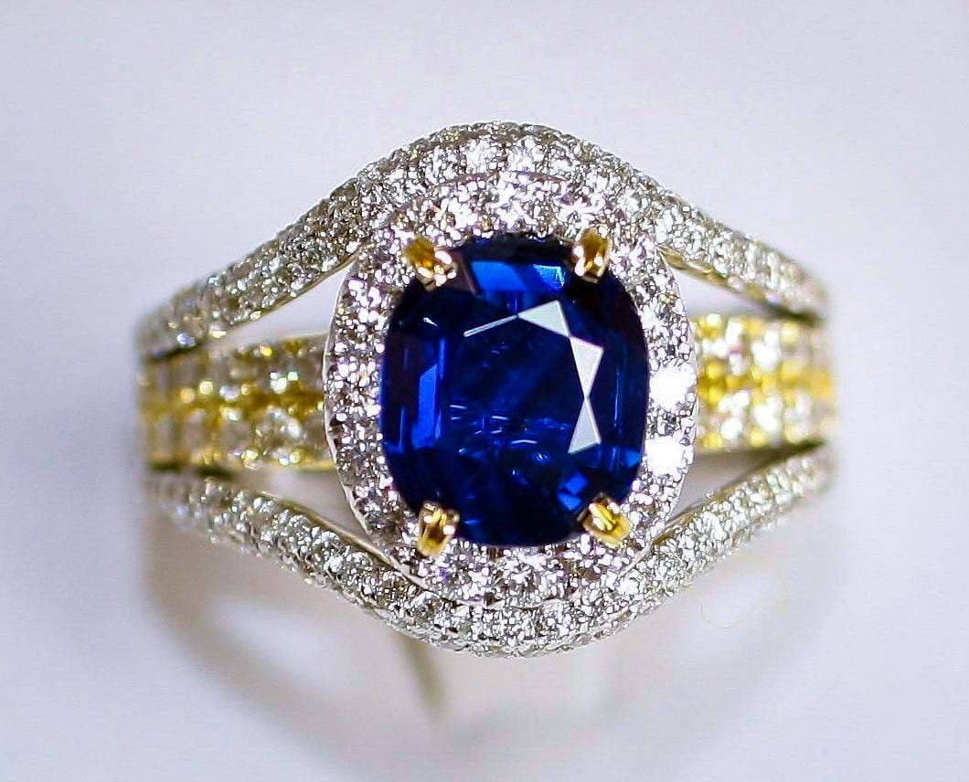 Non-Heated Sapphire Ring Featured Image