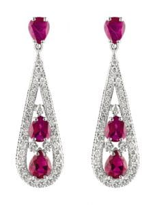 Sell Ruby Earrings