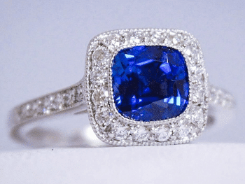 Sapphire & Diamond Ring Featured Image
